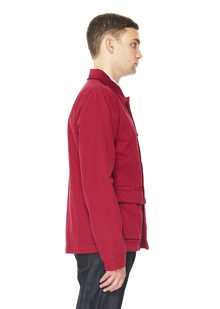 Travel Jacket in Red
