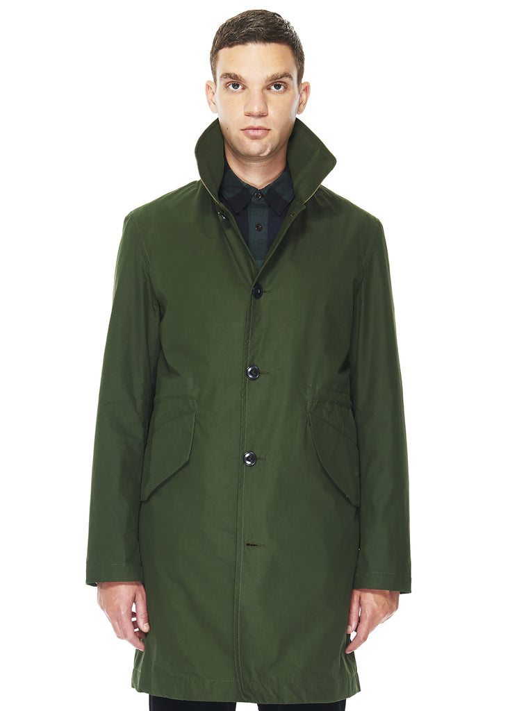 Shop Coat in Olive