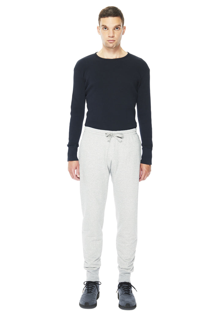 Warm-Up Pant in Grey Marl