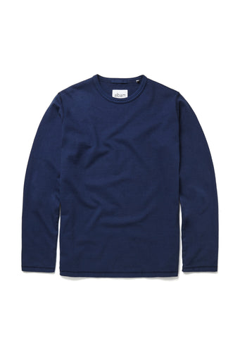 Mid-weight Sweatshirt in Dark Indigo