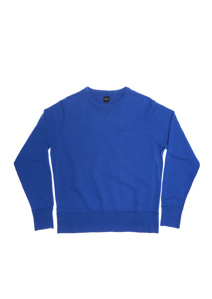 Sweatshirt in Regatta Blue