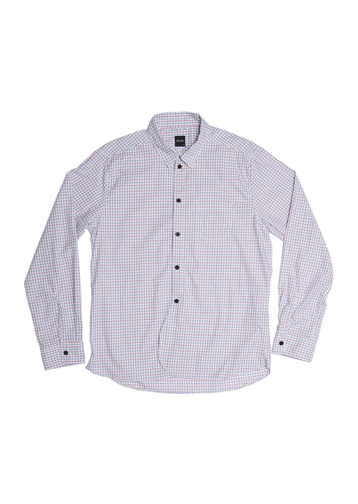 Washed Yard Shirt in Tattersall