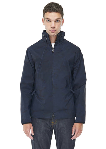 Ripstop Crew Jacket in Navy Ripstop