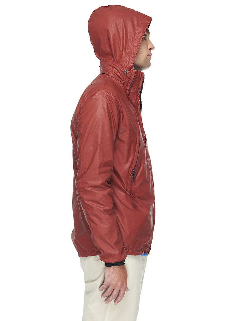 Ripstop Crew Jacket in Red Ripstop