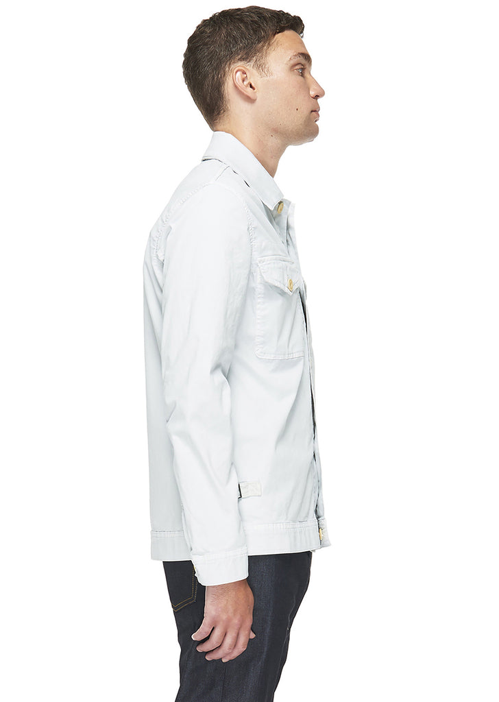 Boat Jacket in Grey White
