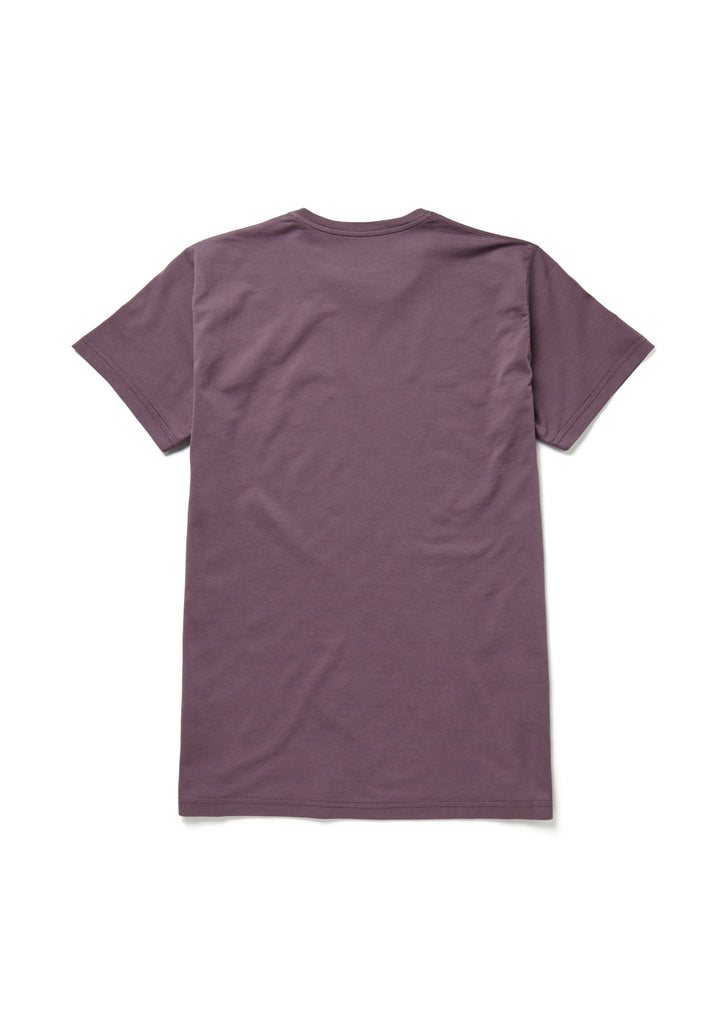 Classic T-Shirt in Plum