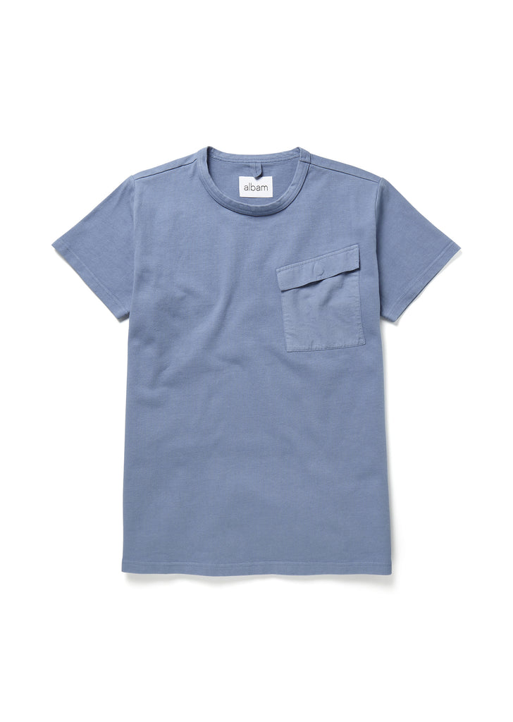 Barrier T-Shirt in Stone Blue