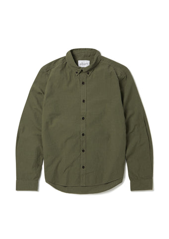 Cousteau Shirt in Leaf Green