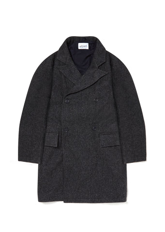 DB Overcoat in Charcoal