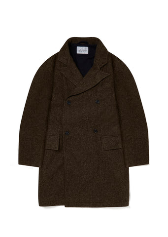 DB Overcoat in Brown