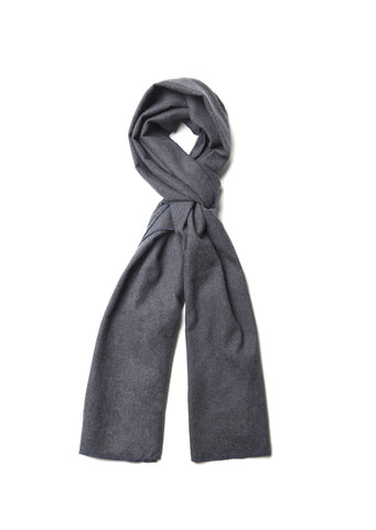 Cotton Scarf in Charcoal
