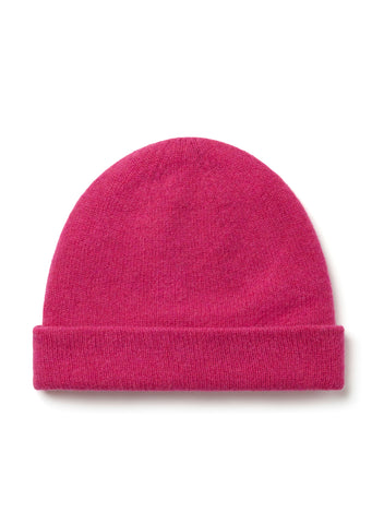 New - Wool Beanie in Pink