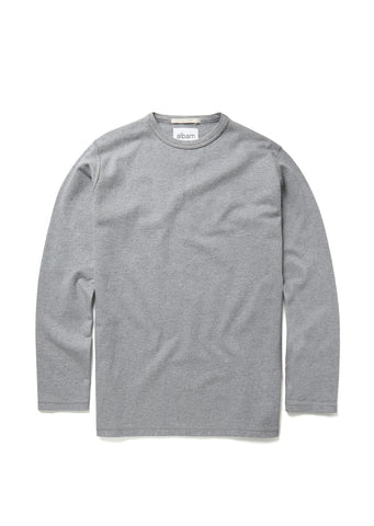 Mid-weight Sweatshirt in Grey