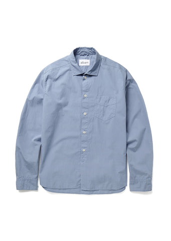 Correspondents Shirt in Stone Blue