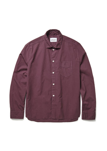 Correspondents Shirt in Plum