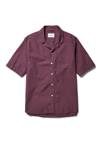 Panama Shirt in Plum