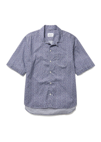 Panama Shirt in Plum Print