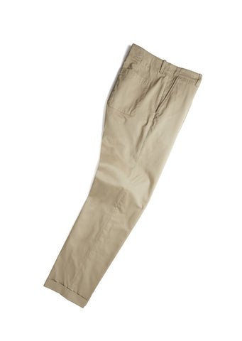Slim Parade Trouser in Stone