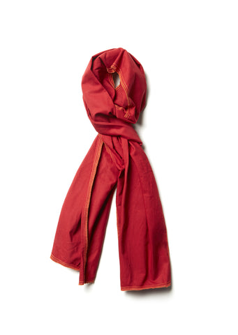 Summer Scarf in Red