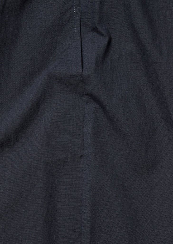 Drawstring Trouser in Navy Ripstop