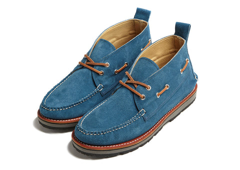 Suede Chukka in Regatta Blue