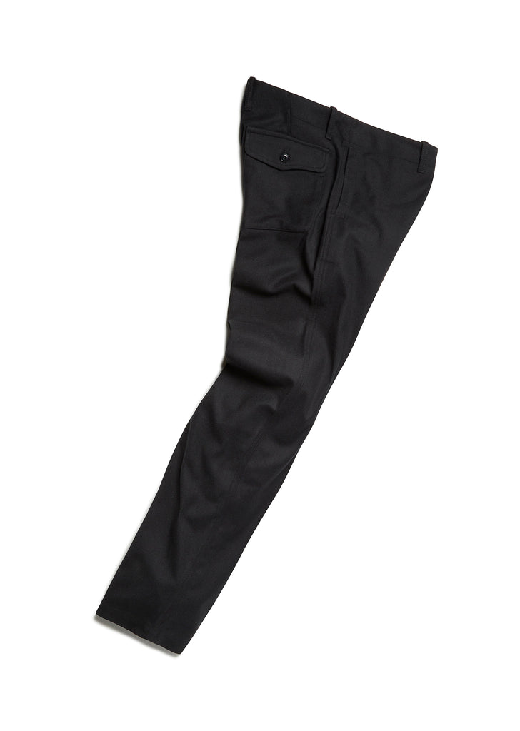 Wool Bleaklow Chino in Charcoal