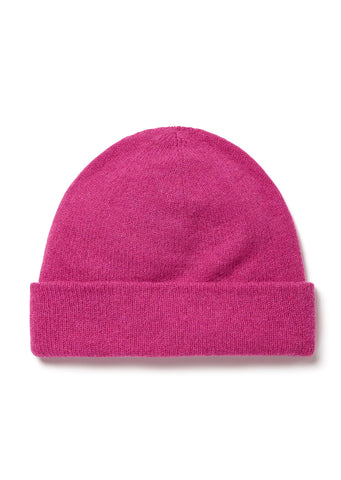 Wool Beanie in Damask