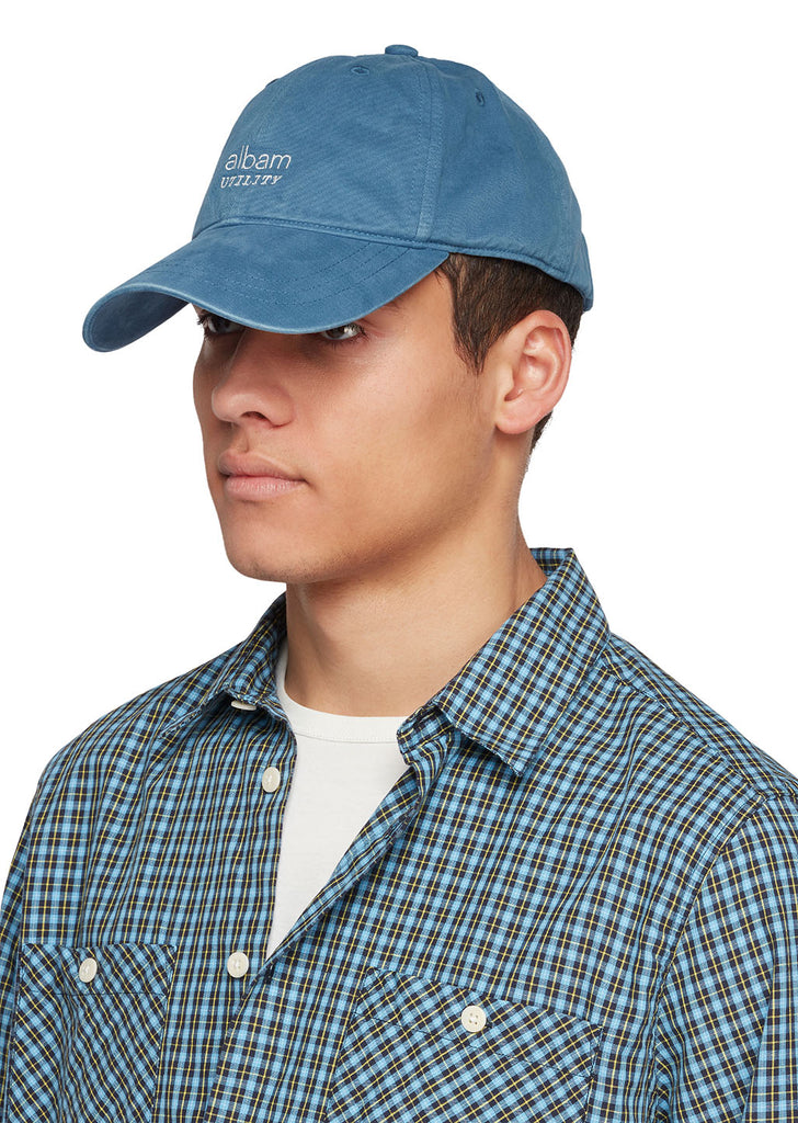 Utility Cap B in Blue