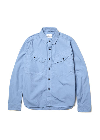 Huey Shirt in Stone Blue