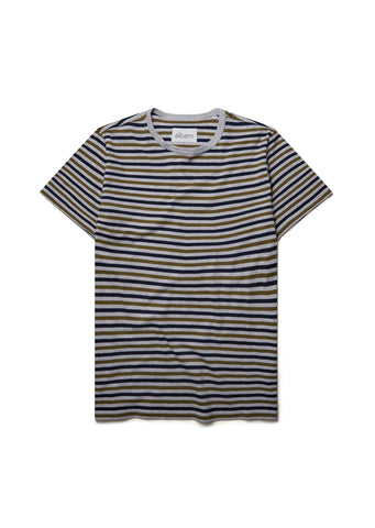 New - Striped T-Shirt in Olive