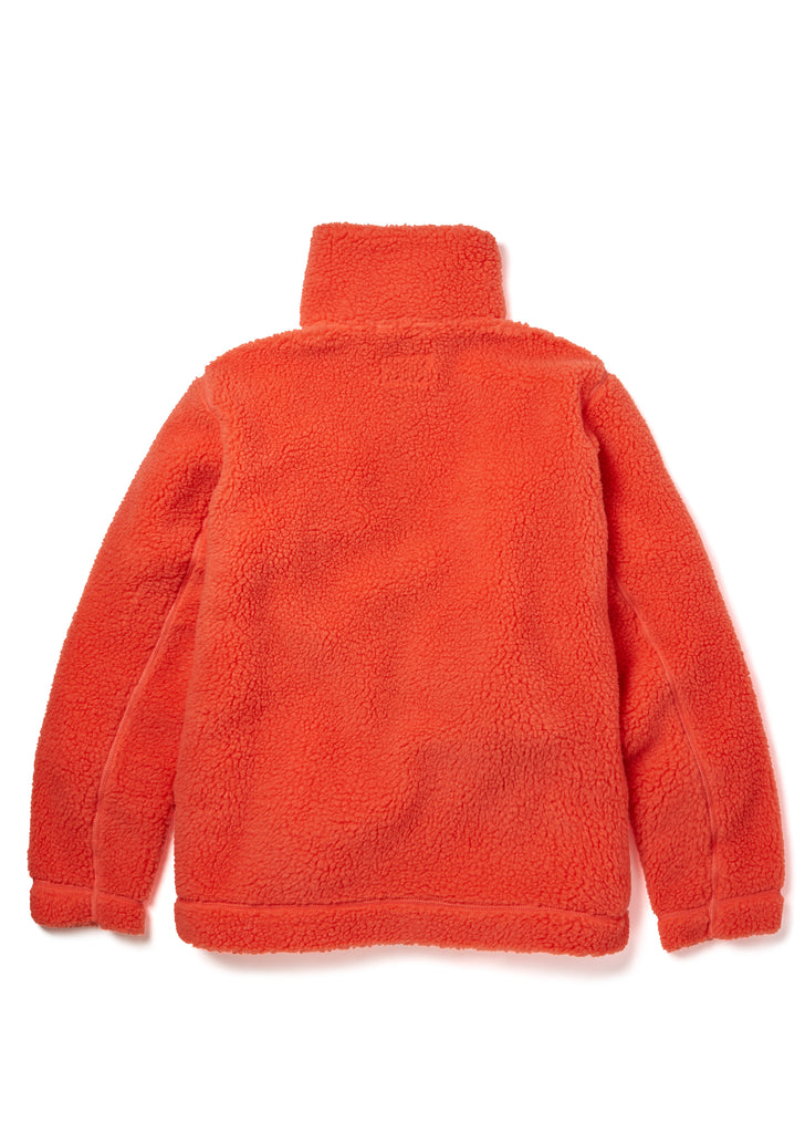 Fleece Jacket in Nasturtium