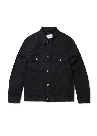 Utility Jacket in Black