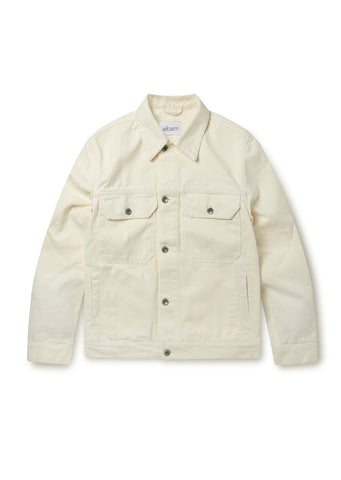 Utility Jacket in Ecru