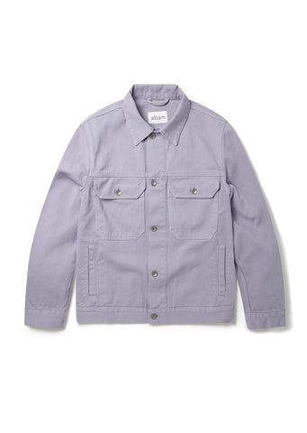 Utility Jacket in Lavender Fog