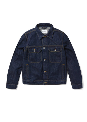 New - Japanese Denim Utility Jacket in Indigo