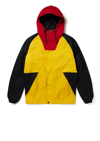 New - Colour Blocked Trail Parka in Yellow
