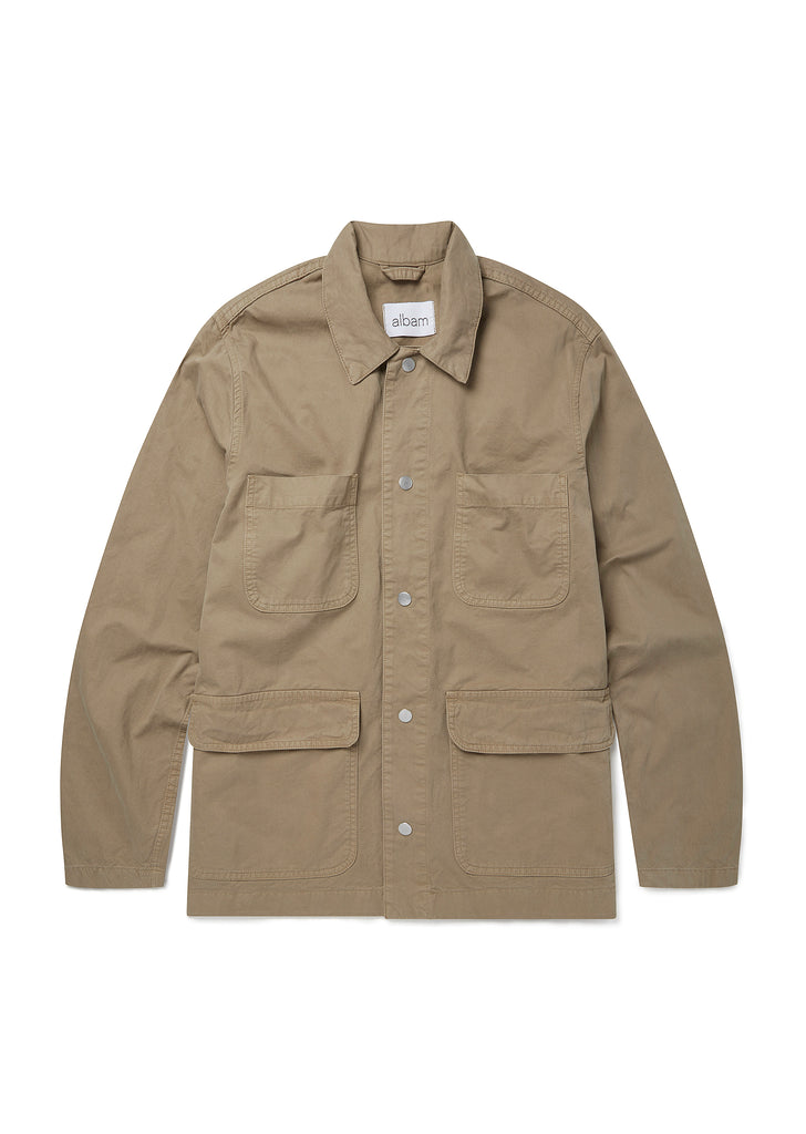 Work Jacket in Kelp