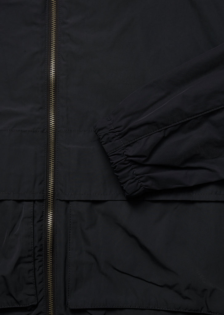 Nylon Cagoule in Anthracite