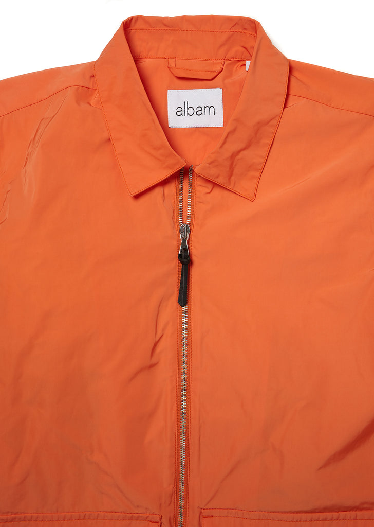 Nylon Bomber in Orange