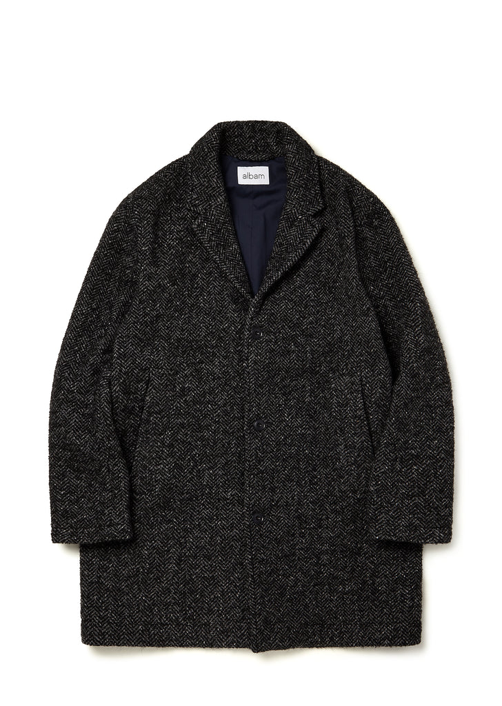 Mullan Overcoat in Grey