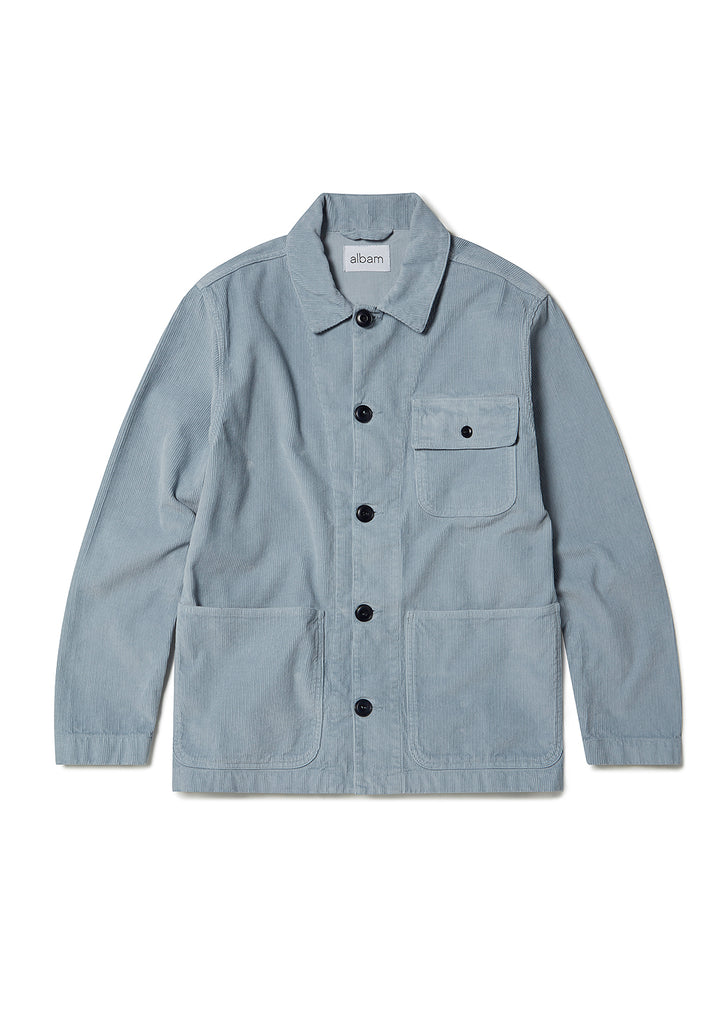 Railroad Work Jacket in Grey
