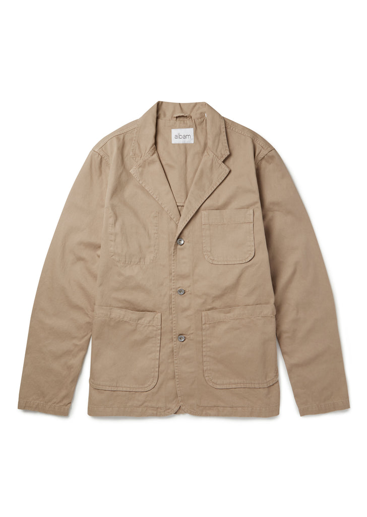 Hedge Casual Blazer in Tobacco