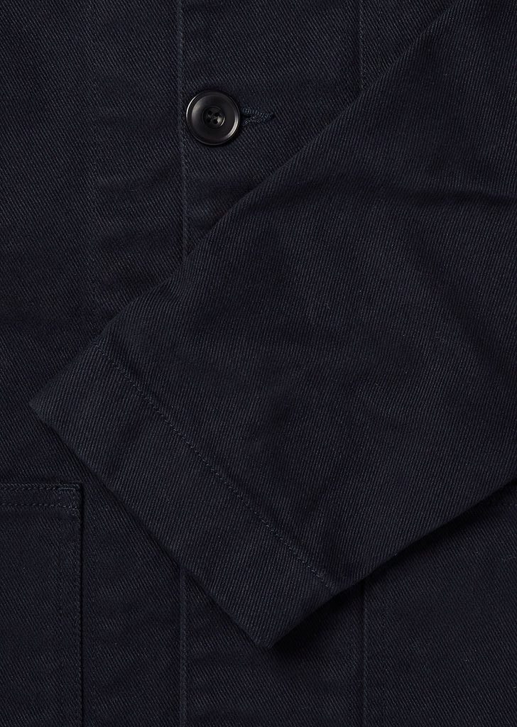 Drill Rail Jacket in Navy