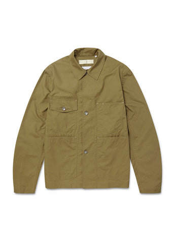Mechanics Coverall Jacket in Drab