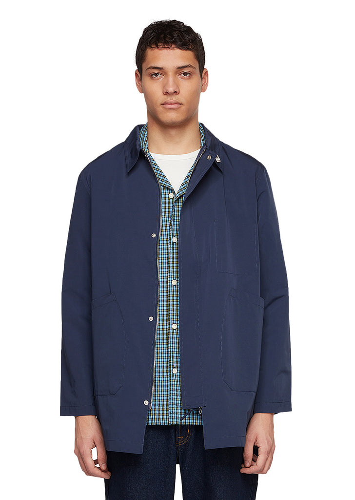 Utility Synthetic Foreman Jacket in Navy