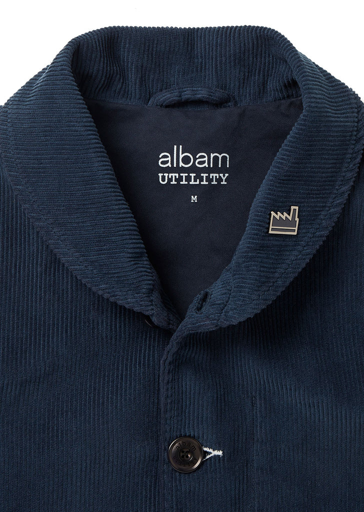Utility Traders Corduroy Jacket in Navy