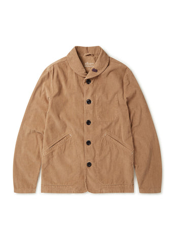 Utility Traders Corduroy Jacket in Sand