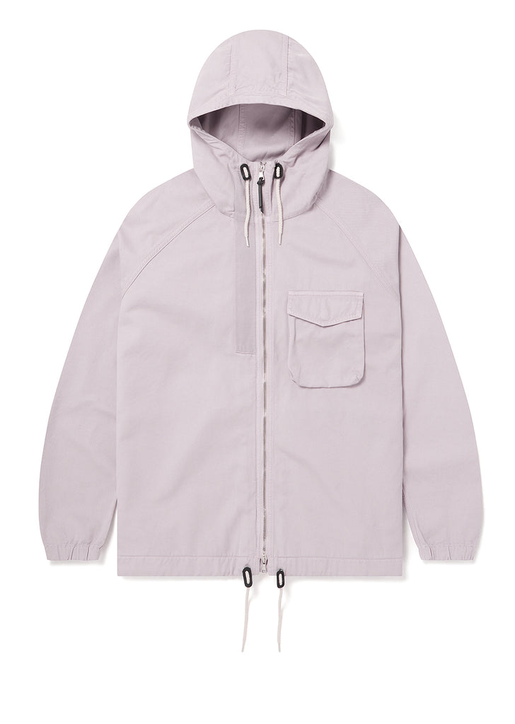 Hennek Zip Through Parka in Pink - Exclusive to Albam
