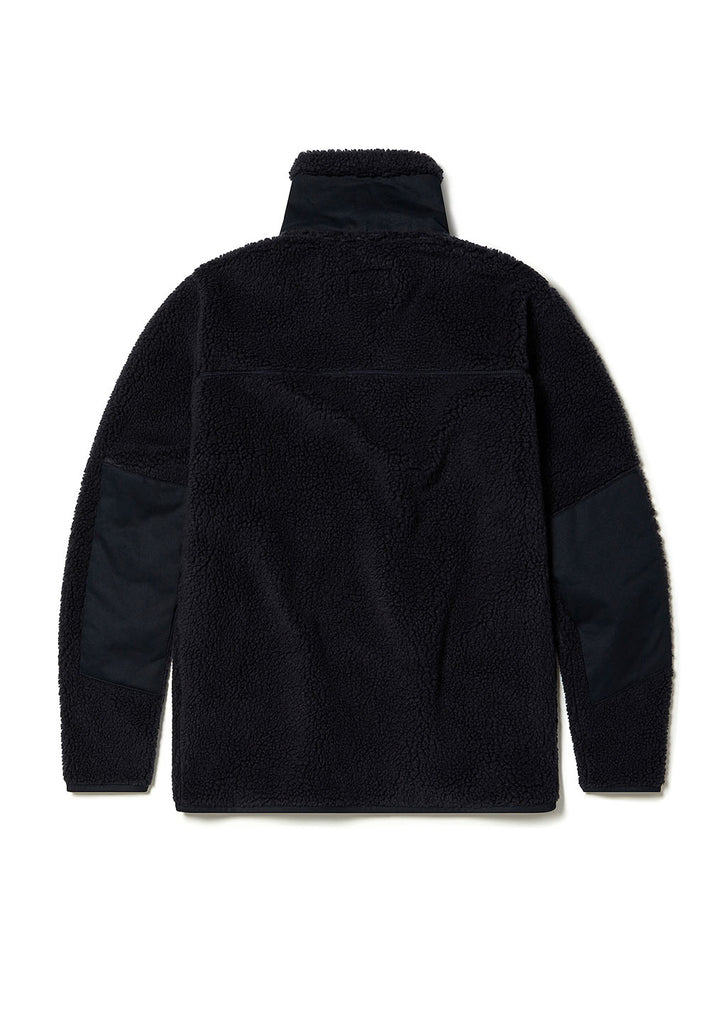 Combat Fleece Jacket in Indigo