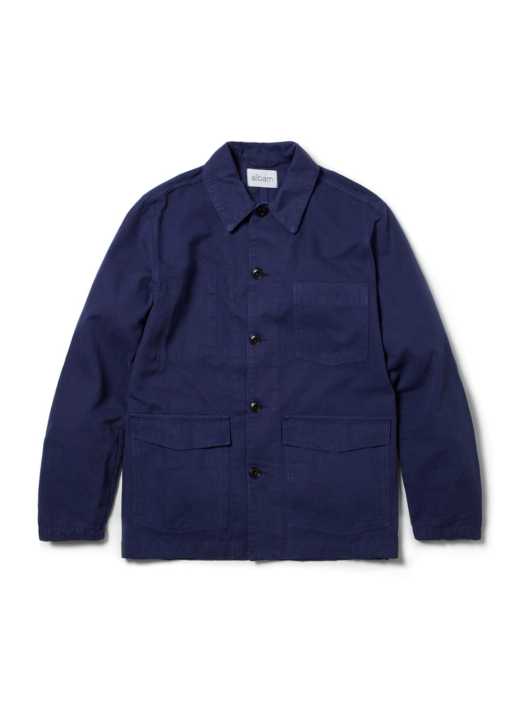 Rail Jacket in Navy